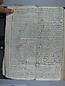 Libro Racional 1757, folios 118vto y 119r