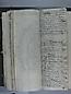 Libro Racional 1757, folios 184vto y 185r