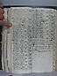 Libro Racional 1757, folios 212vto y 213r
