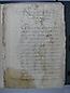 Visita Pastoral 1655, folio 001r