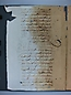 Visita Pastoral 1725, folio 001vto