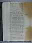 Visita Pastoral 1725, folio 107vto