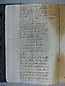 Visita Pastoral 1725, folio 112vto