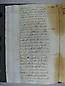 Visita Pastoral 1725, folio 121vto