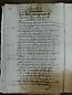 Visita Pastoral 1726, folio 33vto