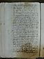 Visita Pastoral 1726, folio 42vto