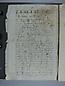 Visita Pastoral 1739, folio 01vto