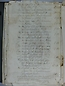 Visita Pastoral 1818, Índice vto